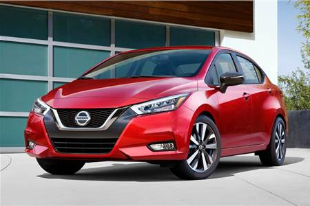 New Nissan Sunny image gallery