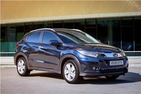 Honda HR-V facelift image gallery