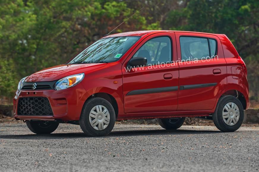 Maruti Suzuki Alto facelift image gallery