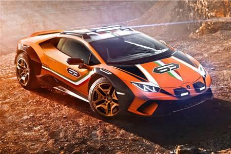 Lamborghini Sterrato concept image gallery