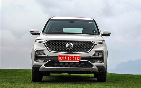 2019 MG Hector image gallery