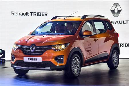 2019 Renault Triber image gallery