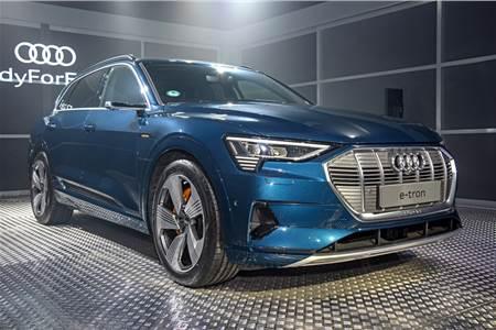 2019 Audi e-tron India image gallery