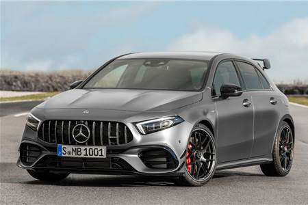2019 Mercedes-AMG A 45 S image gallery