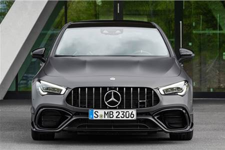 2019 Mercedes-AMG CLA 45 S image gallery