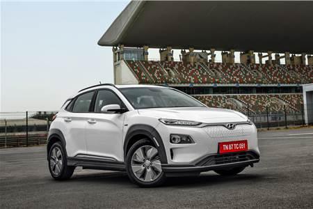 2019 Hyundai Kona Electric image gallery