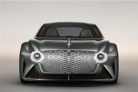 2019 Bentley EXP 100GT concept image gallery