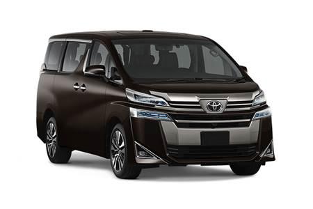 2019 Toyota Vellfire image gallery