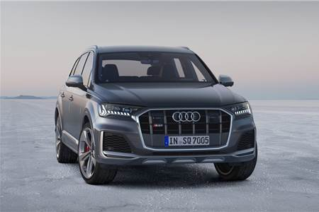 2019 Audi SQ7 facelift image gallery