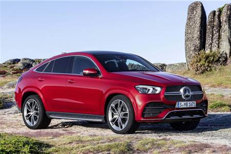 2020 Mercedes-Benz GLE Coupe image gallery