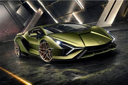 Lamborghini Sian image gallery