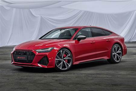 New Audi RS7 image gallery
