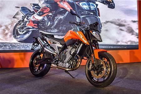 2019 KTM 790 Duke image gallery