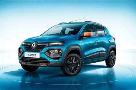 Renault Kwid facelift image gallery