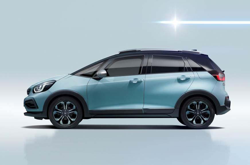 2020 Honda Jazz (Honda Fit) interior and exterior image gallery - Autocar India
