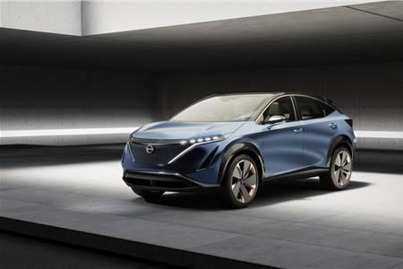 Nissan Ariya Concept image gallery