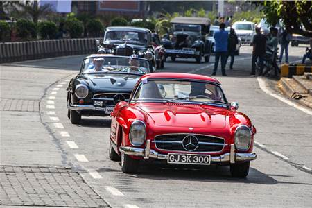 Mercedes-Benz Classic Car Rally 2019 image gallery