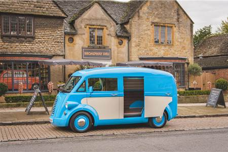 Morris Commercial JE electric van image gallery