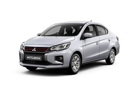 2020 Mitsubishi Attrage facelift image gallery