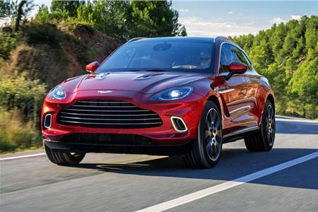 Aston Martin DBX image gallery