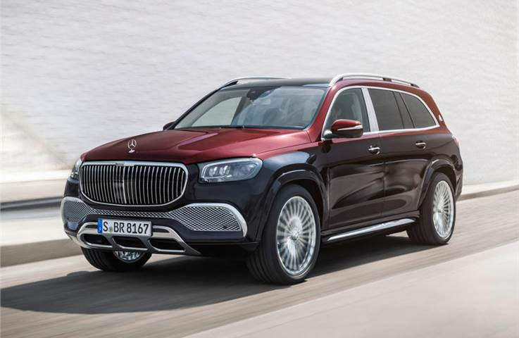 Mercedes-Maybach GLS image gallery