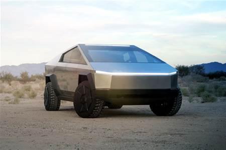 Tesla Cybertruck image gallery
