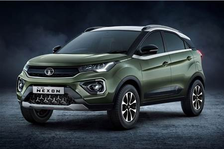 2020 Tata Nexon facelift image gallery