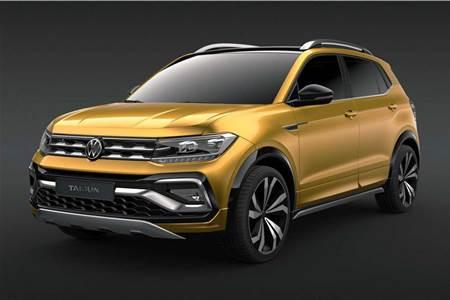 Volkswagen Taigun concept image gallery