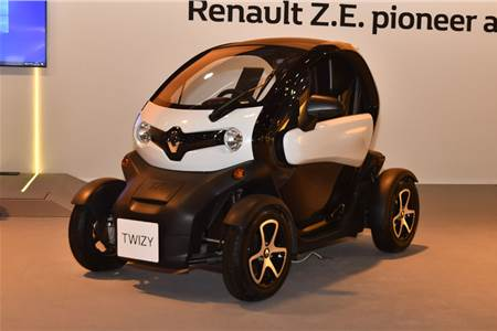 Renault Twizy Cargo image gallery