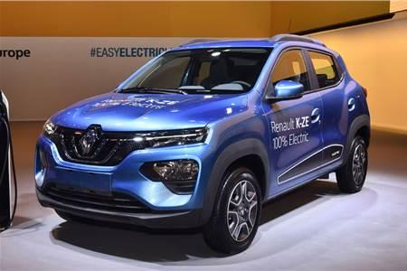 Renault Kwid K-ZE electric image gallery