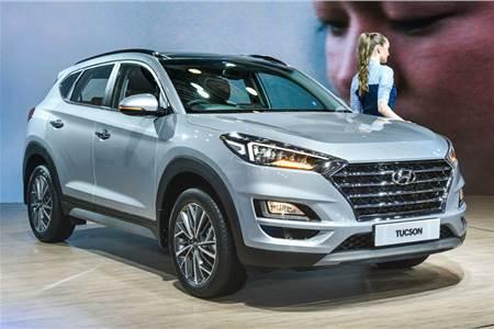 Hyundai Tucson facelift image gallery