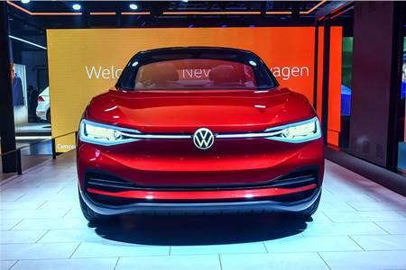 2020 Volkswagen I.D. Crozz Auto Expo image gallery