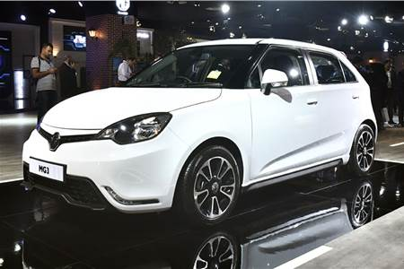 MG3 hatchback image gallery