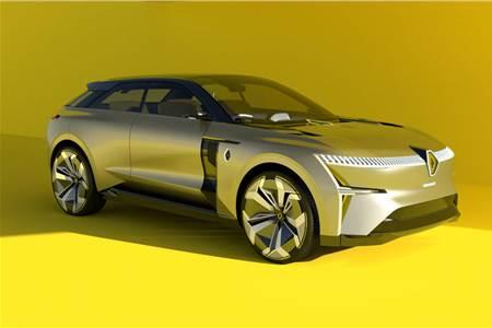 Renault Morphoz EV concept image gallery