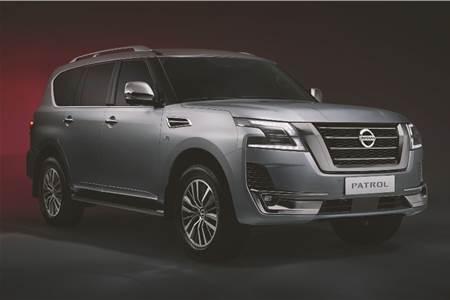Nissan Patrol facelift image gallery