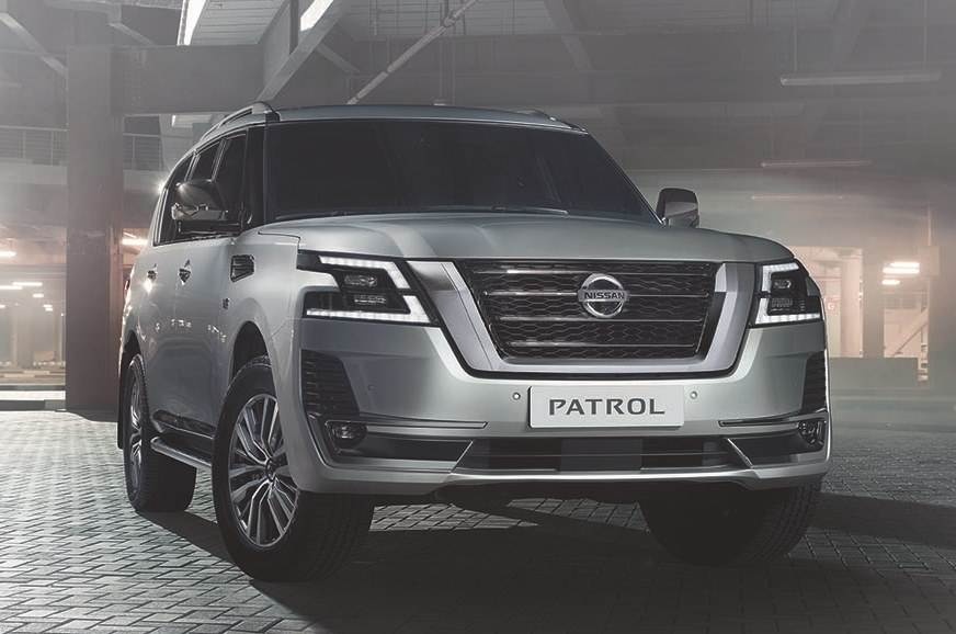2019 nissan patrol facelift image gallery  autocar india