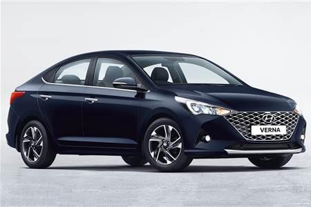 2020 Hyundai Verna facelift India image gallery