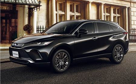 2020 Toyota Harrier image gallery