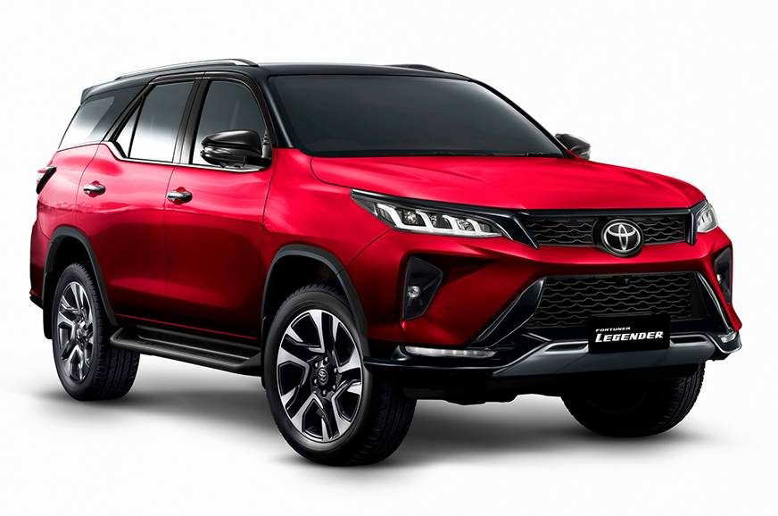 2021 Toyota fortuner facelift lagender