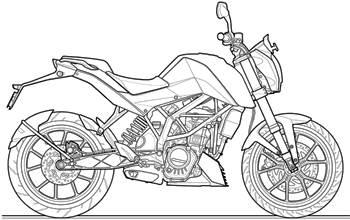 KTM 200 Duke review, test ride