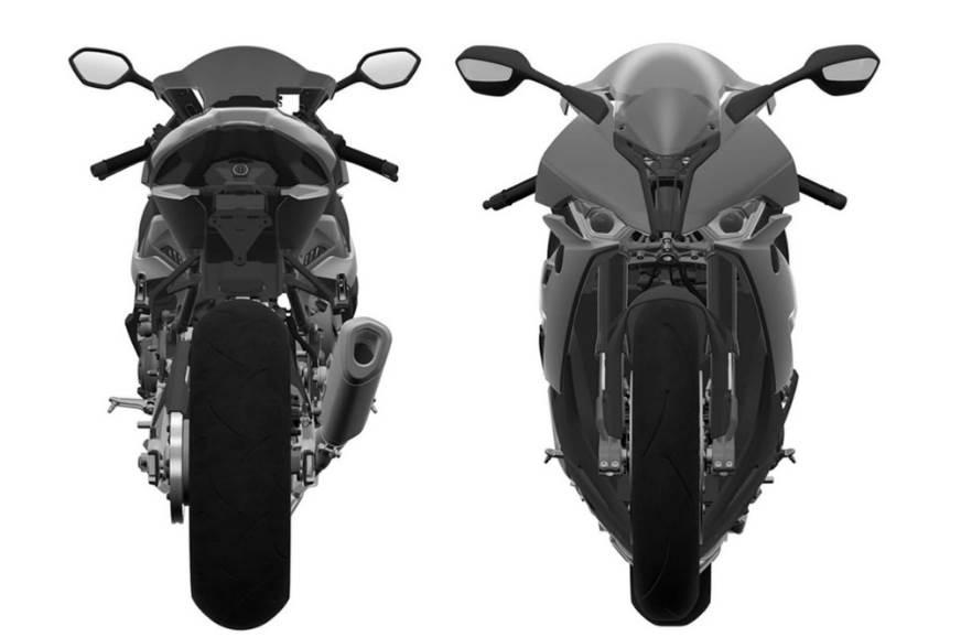BMW S1000RR patent image