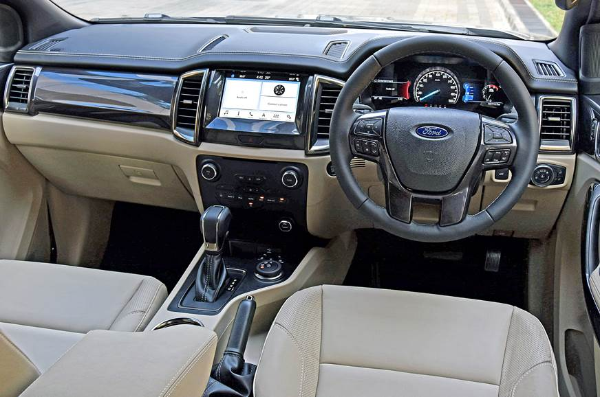 2019 Ford Endeavour facelift dashboard
