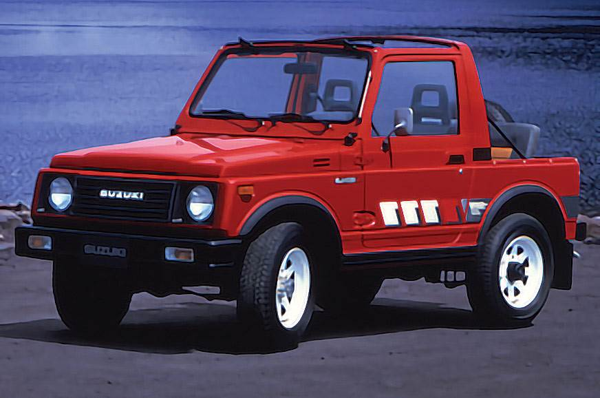 Suzuki Jimny half-century The second-generation 1981