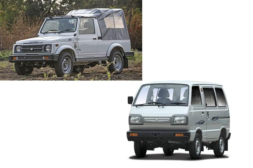 Maruti Suzuki Gypsy and Omni