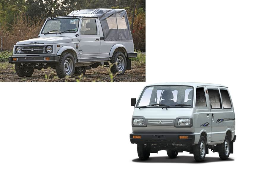 Maruti Suzuki Gypsy and Omni