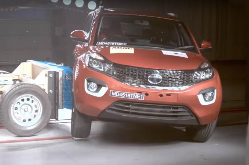 Tata Bexon side impact test Global NCAP
