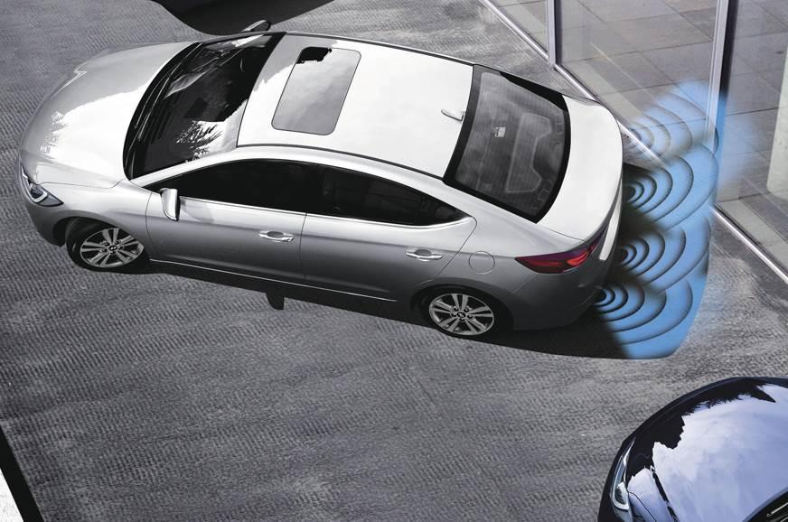 Rear parking sensor