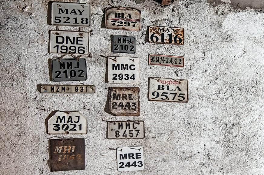Numberplates