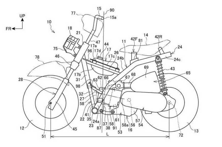Honda-patent