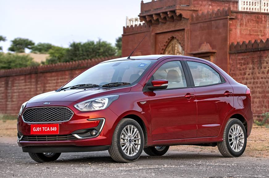 2018 Ford Aspire front static